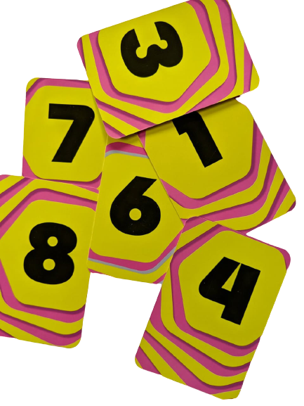 numbers cards