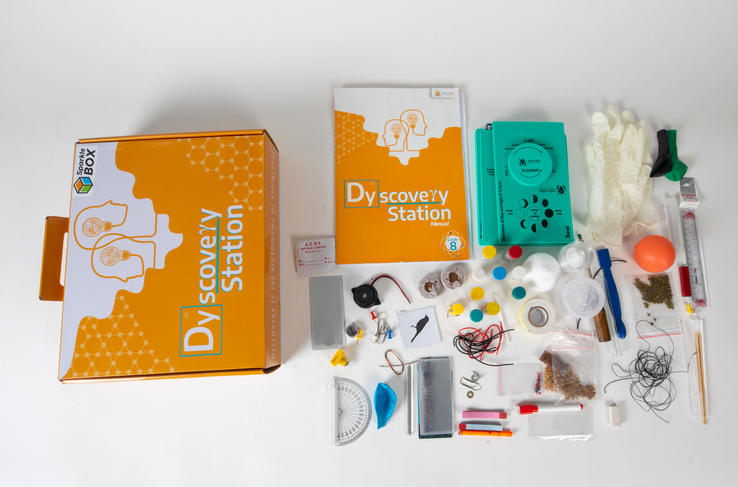 Science Experiment kit-Grade8 A